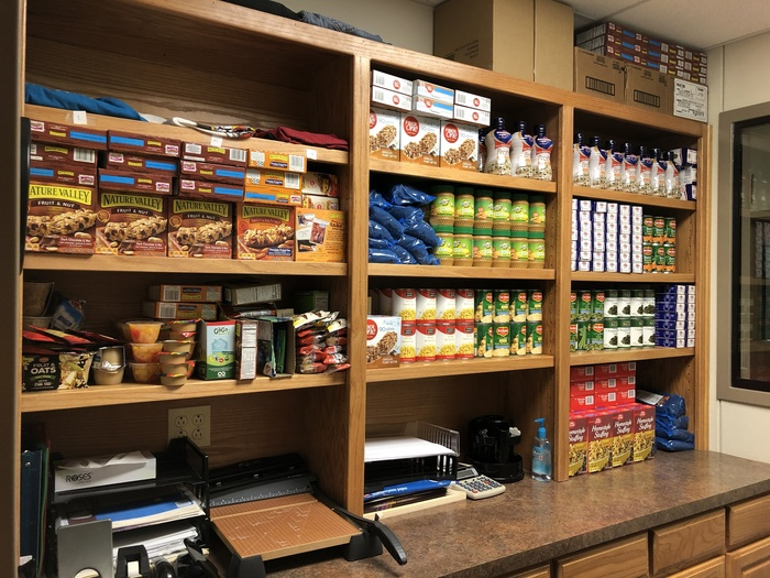 Food Pantry at Huston Academy